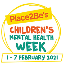 Place2Be's - Children's Mental Health Week 1st - 7th Feb 2021 logo